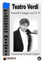 Francesco Attesti in Concerto a Monte San Savino