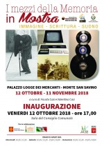 I Mezzi della Memoria in Mostra - Monte San Savino