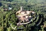 Gargonza - Veduta Aerea - Monte San Savino